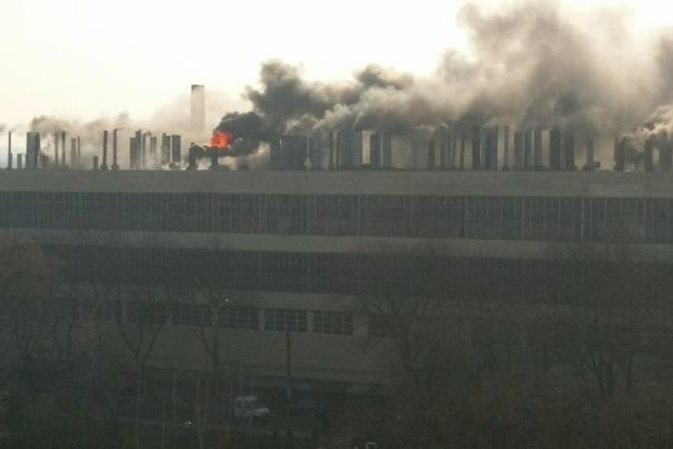 СМИ узнали, что горит на Харьковском велосипедном заводе