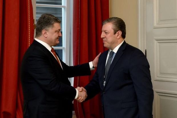 Премьер Грузии пригласил Порошенко посетить страну в удобное время