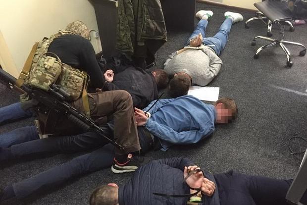 СБУ задержала в Киеве банду «коллекторов-вымогателей»