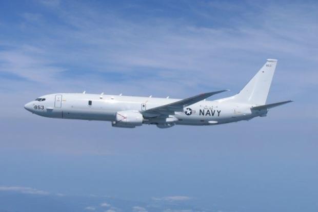 Самолет США провел разведку вблизи оккупированного РФ Крыма