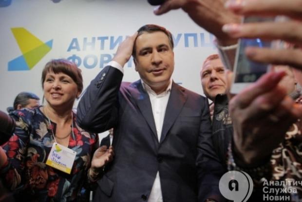 Порошенко злится, потому что потерял для себя потоки из Одесской области - Саакашвили