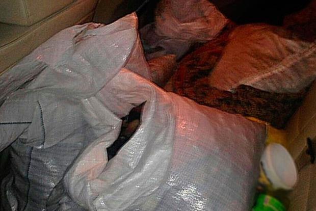 Нацполиция изъяла 89 кг янтаря из автомобиля жителя Луцка