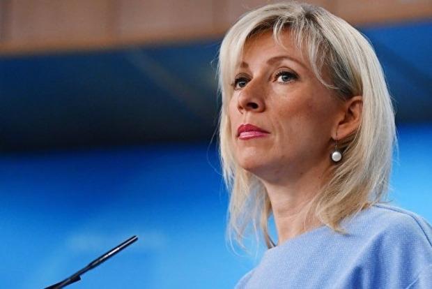 Захарова ответила на заявление Меркель о санкциях в стиле сам дурак!