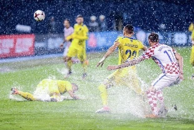 Матч Хорватия - Косово доиграют сегодня в 15:30
