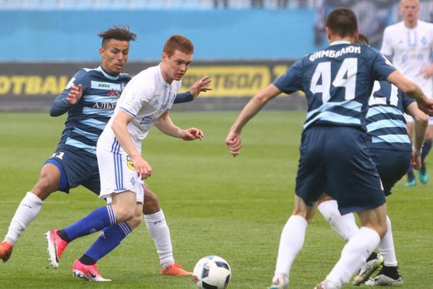 Сегодня «Динамо» в центральном матче тура примет «Олимпик»