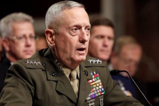 Мэттис: США хотят решить проблему с Северной Кореей дипломатическим путем