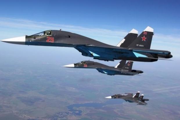 ВПС США показали відео перехоплення винищувачів ПКС РФ над Балтією