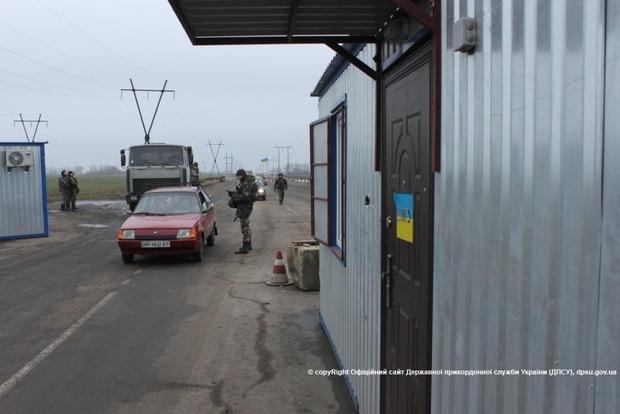 Из-за обстрела закрылся КПВВ «Зайцево»
