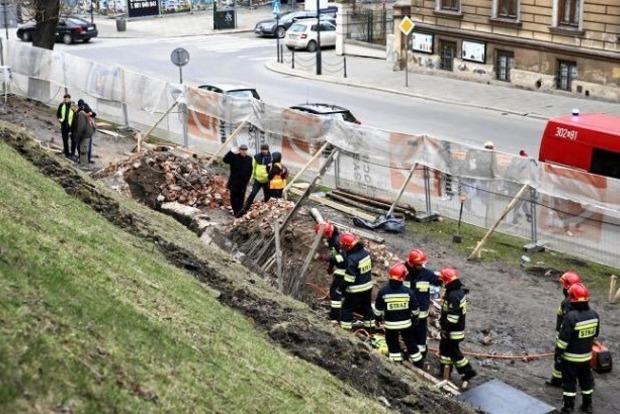 В Польше из-за обвала стены замка погиб украинец