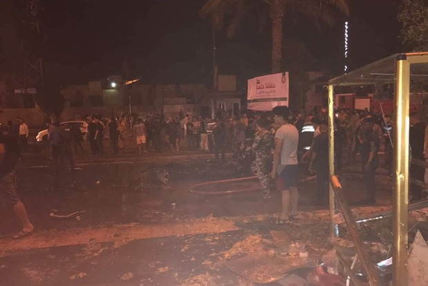 Из-за теракта в Багдаде погибли 13 человек