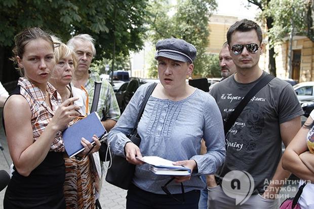 Савченко обнародовала списки пленных и пропавших без вести на Донбассе