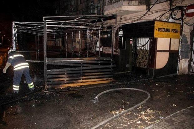 В Днипре горела Pizza Veterano, где работают ветераны АТО