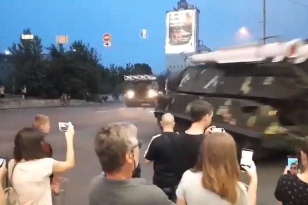 У Києві Бук протаранив бізнес-центр