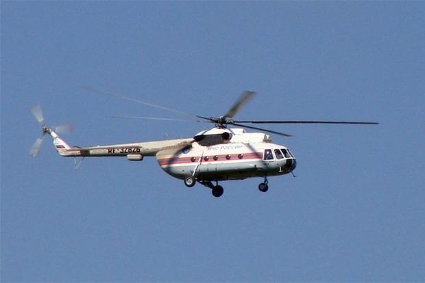 На границе с Крымом зафиксировали пять российских вертолетов