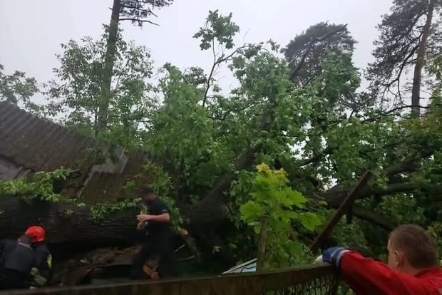 Львов приходит в себя после мощнейшего урагана. Непогода забрала одну жизнь