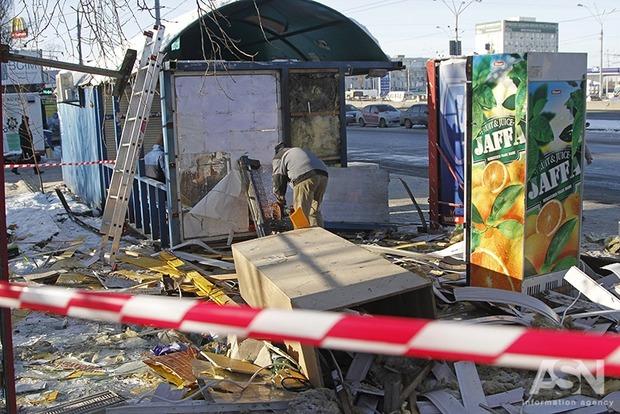 На столичном метро «Петровка» под снос пошел первый незаконный МАФ