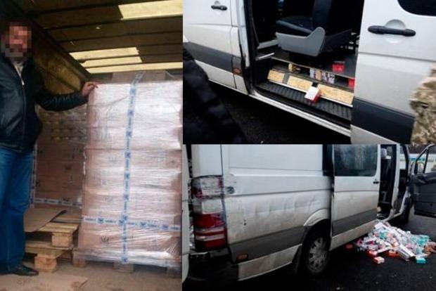 В «ДНР» за день пытались провезти контрабандых товаров на полтора миллиона гривен
