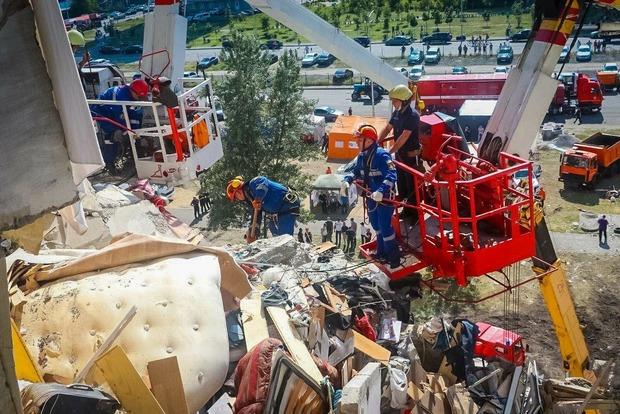 На месте взрыва нашли еще одну жертву трагедии
