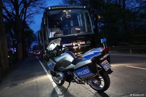 Возле автобуса «Боруссии» нашли записку с признанием о подготовке взрывов