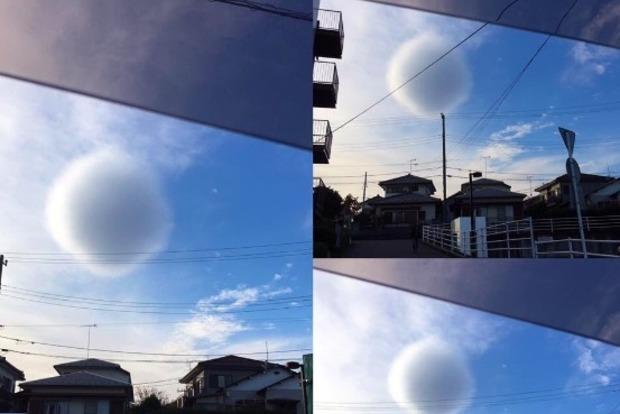 В небе над Японией появилась «Звезда смерти»