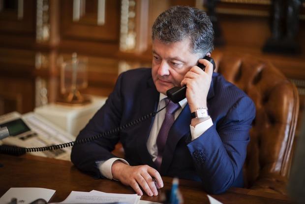 Порошенко и Путин поговорили по телефону