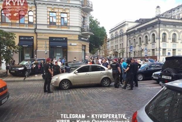 СБУ: Заказчиками провокаций около посольства вКиеве были спецслужбы Российской Федерации