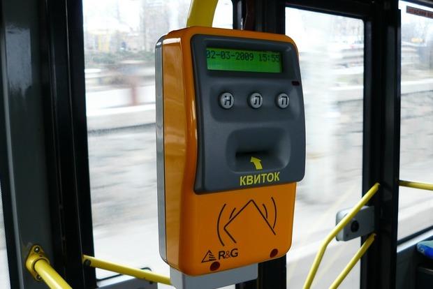 В Украине вступил в силу закон об электронных билетах в городском транспорте