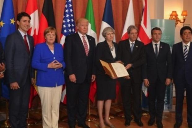 Лидеры G7 заявили о готовности усилить санкции против РФ