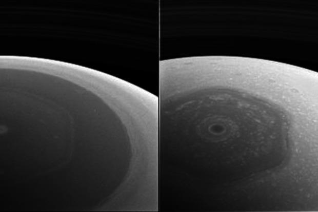 Cassini передала первые снимки Сатурна с новой орбиты