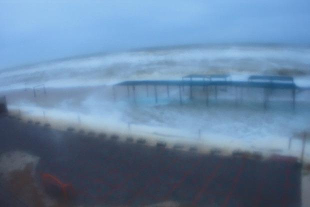 Вода по колено: Кирилловку затопил сильнейший шторм