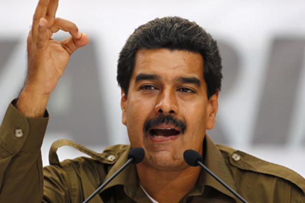 Президент Венесуэлы жалуется на США и просит помощи у Ватикана и России