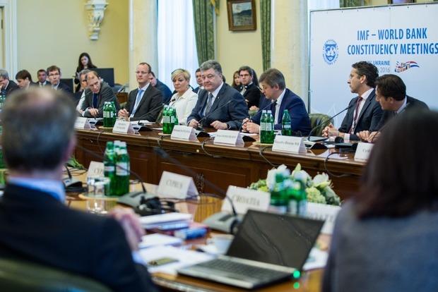 Порошенко обсудил с замглавы МВФ Липтоном вопросы сотрудничества Украины с МВФ