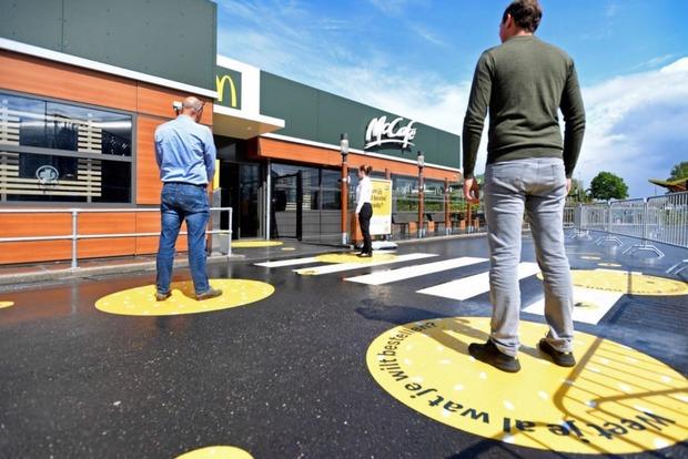 McDonald's показал как будет работать после карантина