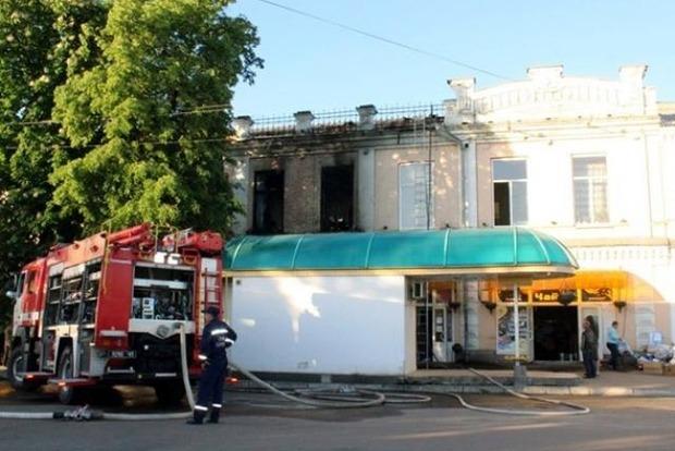 На Черкащине сгорело игорное заведение, есть жертвы