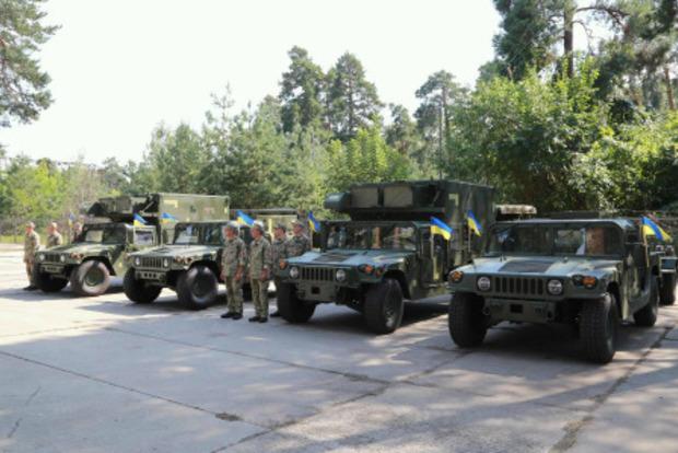 США передали Україні сучасну військову техніку