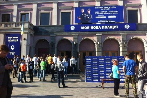 Аваков: В Кременчуге и в Черкассах начался набор в новую полицию