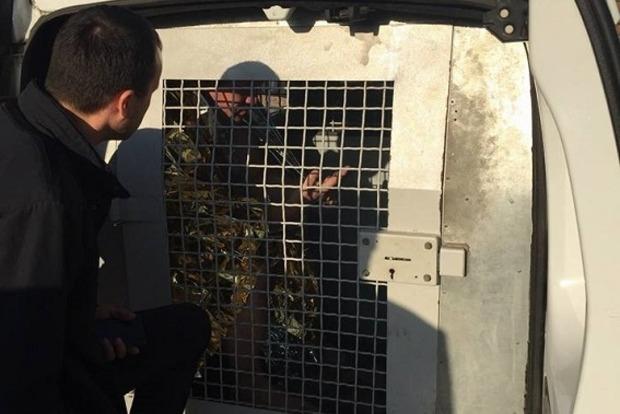 В киевском парке мужчина угрожал взорвать гранату