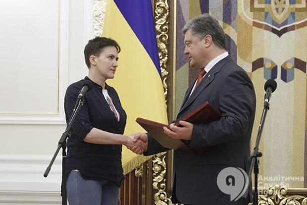 Тимошенко заявила, что партия не будет инициировать лишение Савченко мандата