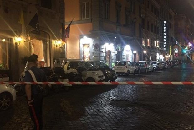 В центре Рима подорвали подозрительный чемодан