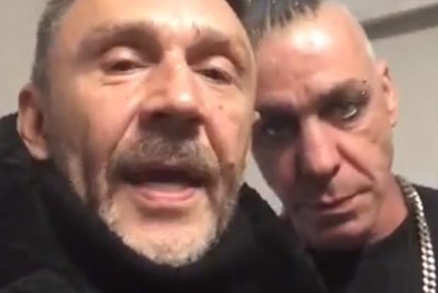 Сергей Шнуров обучил  солиста Rammstein материться— Русская классика