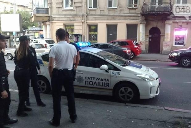 В центре Одессы неизвестный избил активистку
