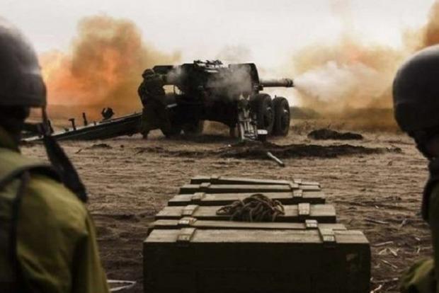 Боевики применили вТроицком 120-мм минометы икрупнокалиберные пулеметы— Штаб АТО