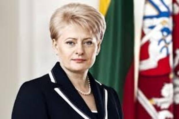 Грибаускайте обратилась к украинцам из-за провала референдума в Нидерландах