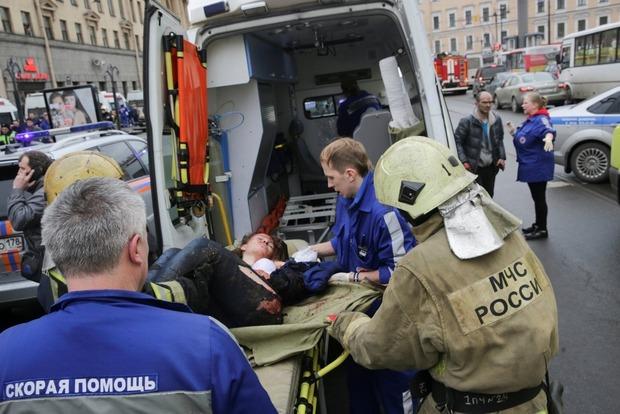 Украинцы не пострадали при взрывах в метро в Петербурге
