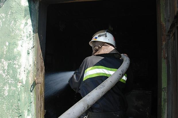 В Николаевской области горела воинская часть