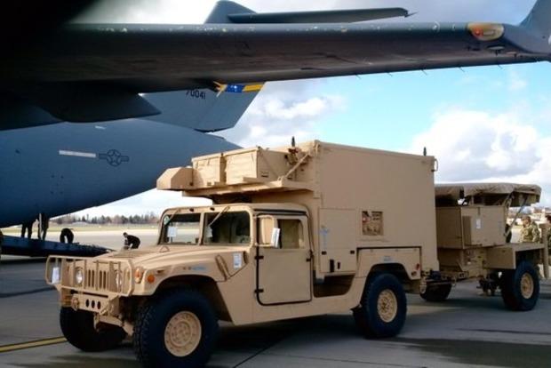 Американские радары доставили во Львов