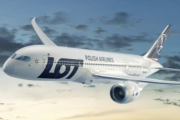 Польская авиакомпания LOT запускает прямой рейс из Варшавы в Киев