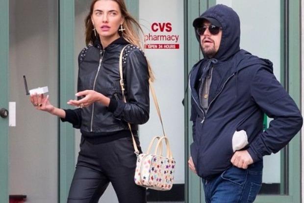 Ди Каприо замечен на прогулке с украинской топ-моделью