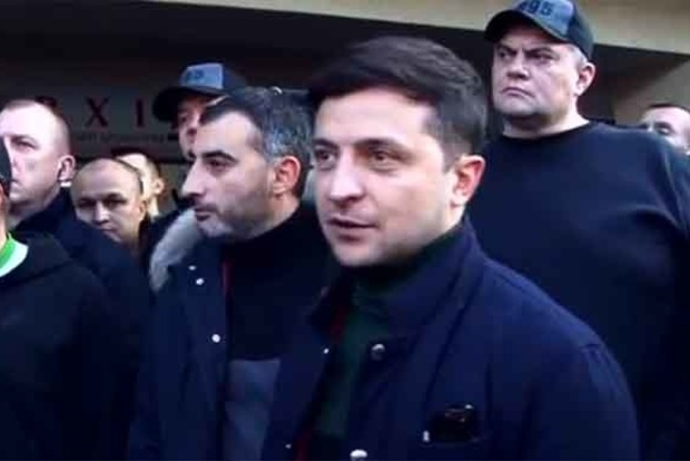 Зеленский и ветераны АТО повздорили во Львове