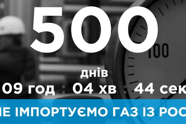 «Нафтогаз» с утра порадовал: Украина 500 дней не покупает российский газ